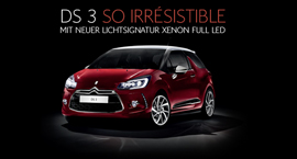 DS 3 So Irrésistible